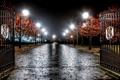Картинка ночь, парк, England, Hough