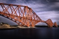 Картинка Edinburgh, Scotland, Firth of Forth Bridge