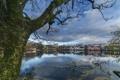 Картинка Норвегия, Ставангер, Ругаланн, озеро Breiavatnet