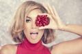Картинка девушка, певица, бантик, Leona Lewis, Леона Льюис