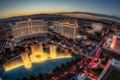 Картинка Лас-Вегас, панорама, фонтан, отель, Las Vegas, Белладжио, Bellagio