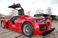 Картинка суперкар, red, Gumpert, supercar, Apollo, Sport