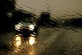 Картинка погода, дождь, авто, свет.