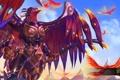Картинка птицы, крылья, броня, Heroes of Newerth, prophet, Dynasty Prophet