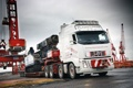 Картинка Volvo, Грузовик, Кран, Великобритания, FH16, Nooteboom