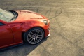 Картинка Orange, Toyota, GT86, Wheels, Asphalt