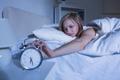 Картинка bed, alarm clock, sleeplessness