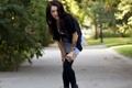 Картинка взгляд, девушка, модель, красотка, MEGAN LYN