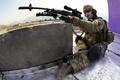 Картинка оружие, фон, солдат