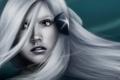 Картинка взгляд, девушка, лицо, волосы, аниме, Mochifin, shirayuki