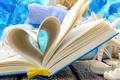 Картинка summer, love, book, shells, seashells