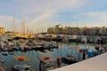 Картинка город, фото, дома, Греция, причал, пирс, Pireas