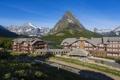 Картинка пейзаж, горы, город, парк, фото, дома, США