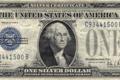 Картинка silver, blue, Dollar, Washington, series, united states, one