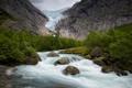 Картинка пейзаж, горы, река