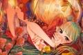 Картинка девушка, цветы, руки, арт, vocaloid, hatsune miku, фонарики