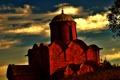 Картинка замок, крепость, Россия, Русь, AGreshnov, кирпич.