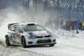 Картинка Зима, Белый, Снег, Спорт, Volkswagen, Машина, Люди