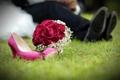 Картинка цветы, розы, букет, свадьба