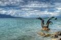 Картинка облака, камни, Швейцария, скульптура, Switzerland, Женевское озеро, Монтрё