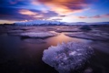 Картинка море, небо, лёд
