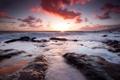 Картинка море, небо, камни
