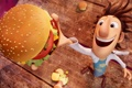 Картинка мультфильм, гамбургер, ученый, Cloudy with a Chance of Meatballs