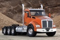Картинка фон, грузовик, передок, truck, тягач, трак, kenworth
