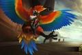 Картинка птица, попугай, Heroes of Newerth, Zephyr, Parrot Zephyr