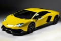 Картинка желтый, Lamborghini, суперкар, LP700-4, Aventador, ламборгини, 50 Anniversario Edition