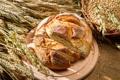 Картинка хлеб, колосья, выпечка