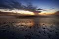 Картинка море, закат, United States, California, San Diego, Point Loma