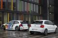 Картинка белый, Отражение, Город, Volkswagen, Улица, Red Bull, WRC
