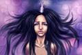 Картинка девушка, волосы, принцесса