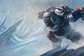 Картинка bear, snow, League of Legends, costume, Northern Storm Volibear
