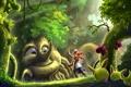 Картинка лес, волшебный, Seeds For You