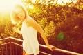 Картинка девушка, свет, настроение