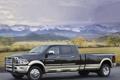 Картинка пейзаж, горы, природа, додж, пикап, dodge, ram