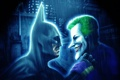 Картинка Batman: Arkham City, batman, joker, dc comics