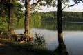 Картинка природа, озеро, фото, Польша, Marchowo, Jezioro