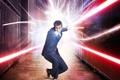 Картинка Дэвид Теннант, костюм, 10 доктор, доктор кто, отвёртка