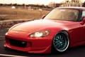 Картинка red, Honda, красная, хонда, S2000, evoked photography