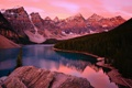 Картинка деревья, облака, горы, небо, озеро