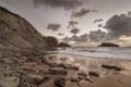 Картинка пляж, песок. камни, ерег, море