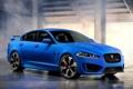 Картинка Автомобиль, Ягуар, 2013, Jaguar, Обоя, Передок, Blue