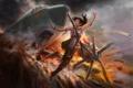 Картинка авария, самолет, Tomb Raider, Лара Крофт, Расхитительница гробниц