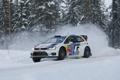 Картинка Зима, Снег, Volkswagen, WRC, Rally, Polo, Sebastien Ogier