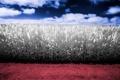 Картинка поле, небо, пейзаж, цвет, кукуруза