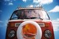 Картинка volkswagen, Автомобиль, хипи-мобиль, not war!», «Make love