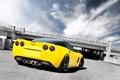 Картинка жёлтый, Z06, Corvette, Chevrolet, шевроле, yellow, корвет